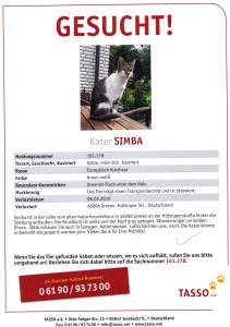 Wir suchen SIMBA 11042016